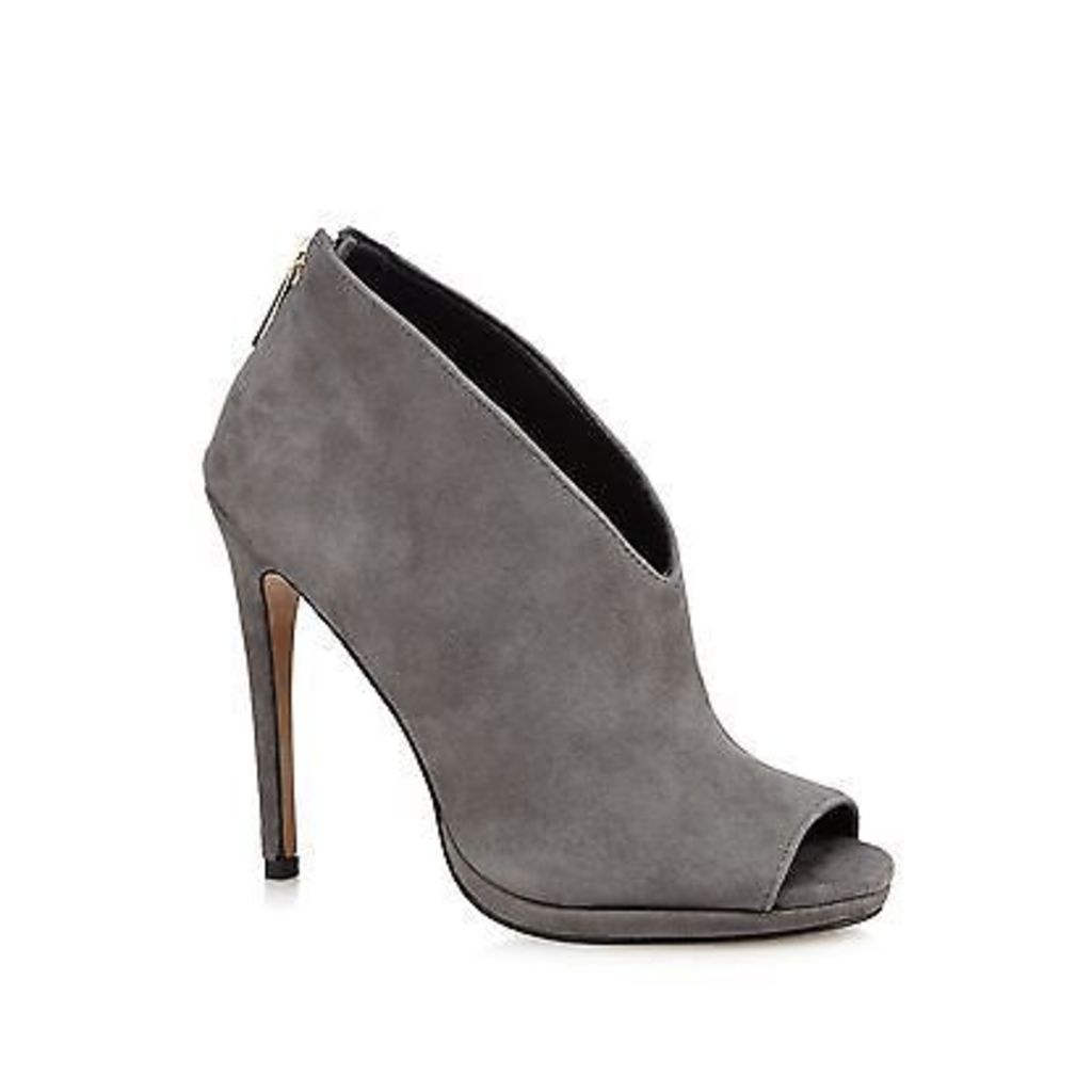 J By Jasper Conran Womens Grey Suede High Sandals From Debenhams
