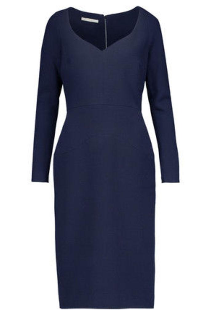 Antonio Berardi - Wool-crepe Dress - Navy