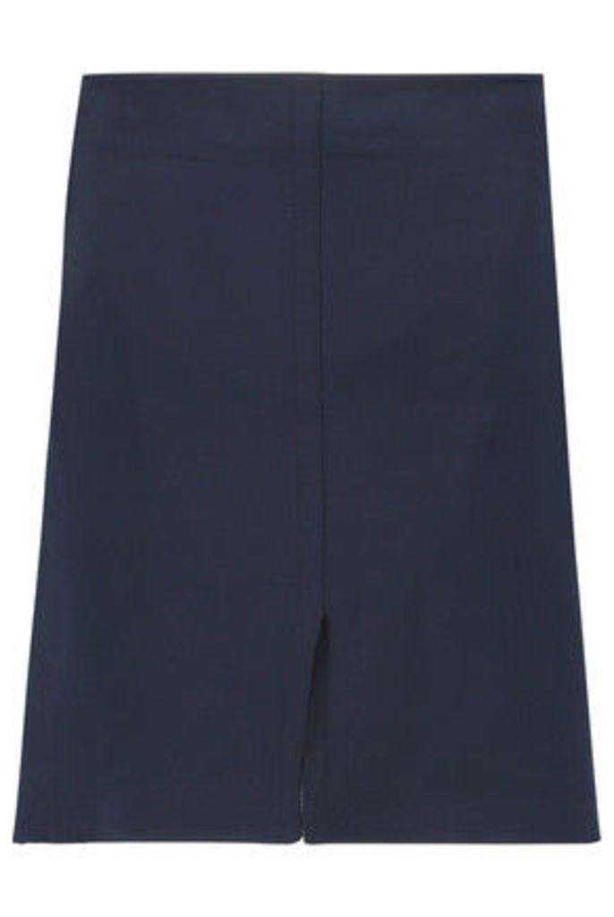 Nina Ricci - Satin Mini Skirt - Midnight blue