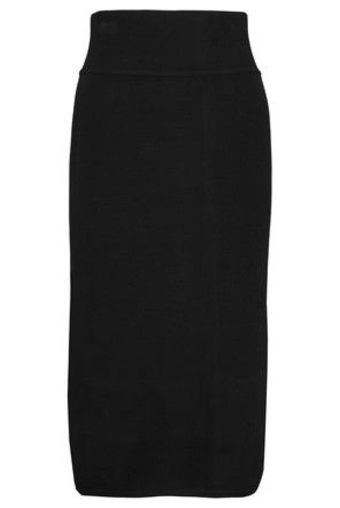 Raoul - Stretch-ponte Pencil Skirt - Black