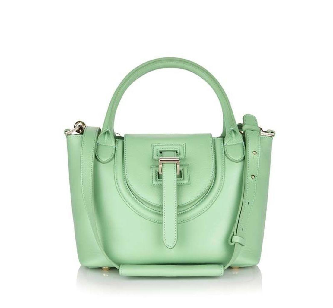 Halo Mini Cross Body Bag Pistachio Green