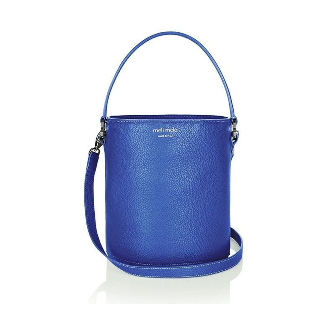 Santina Mini Bucket Bag Cobalt Blue
