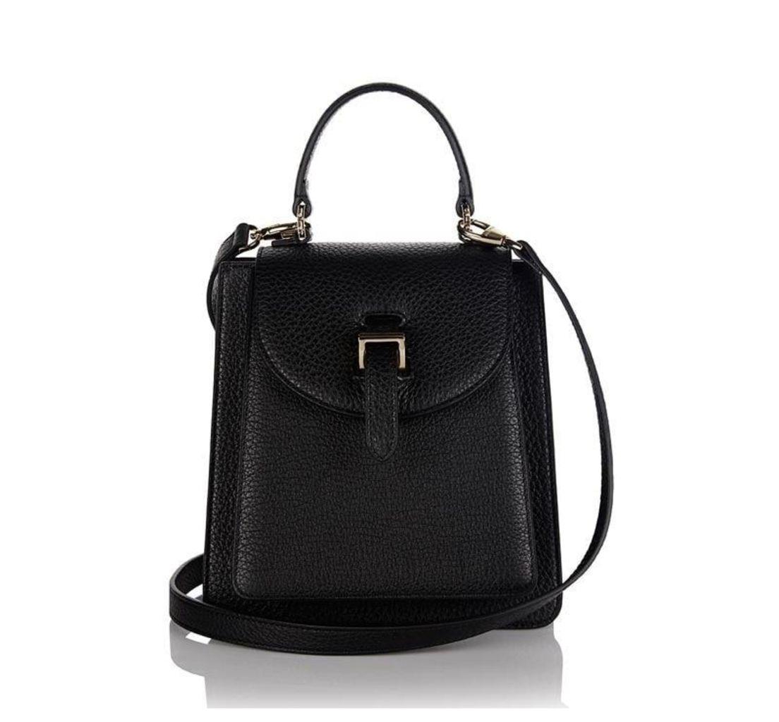 Floriana Mini Cross Body Bag Black
