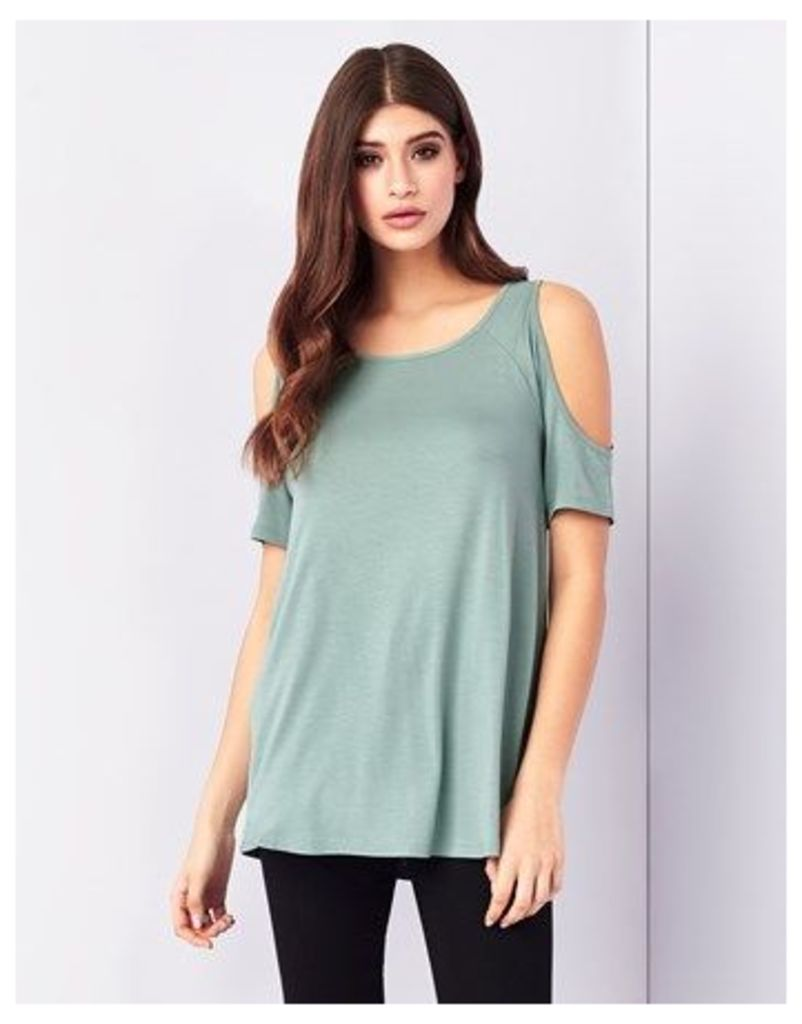 Lipsy Cold Shoulder Top