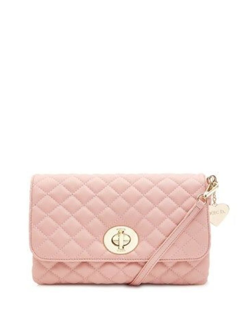 Marc B Quilted Cross Body Clutch Handbag