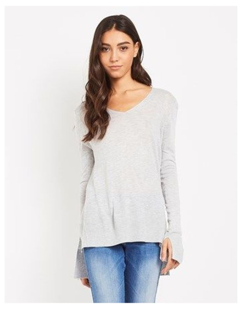 Society 8 Light Weight V Neck Jumper