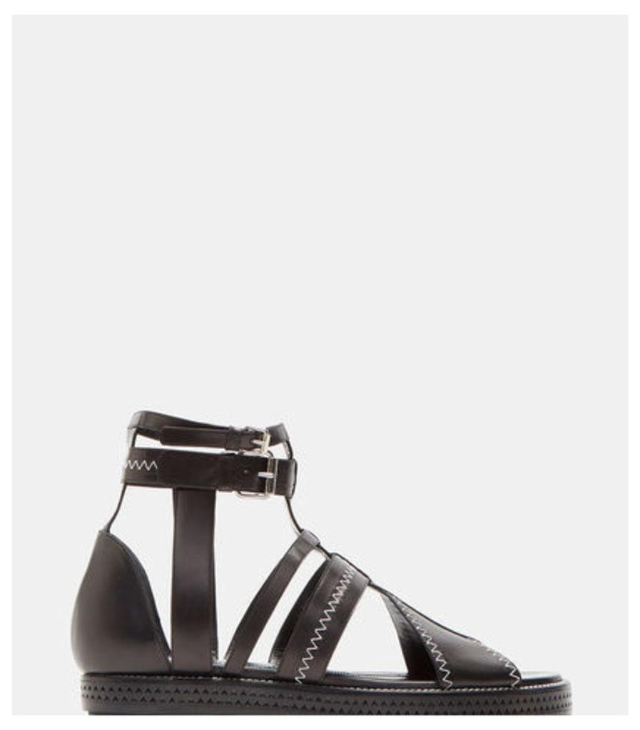 Midnight Gladiator Sandals