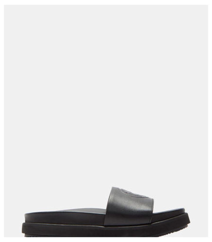 Hacienda Leather Slide Sandals