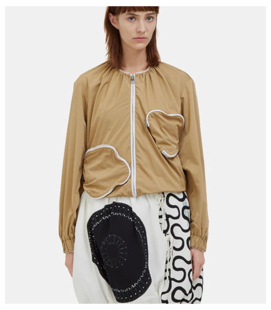 Zipped Squiggle Pocket Jacket