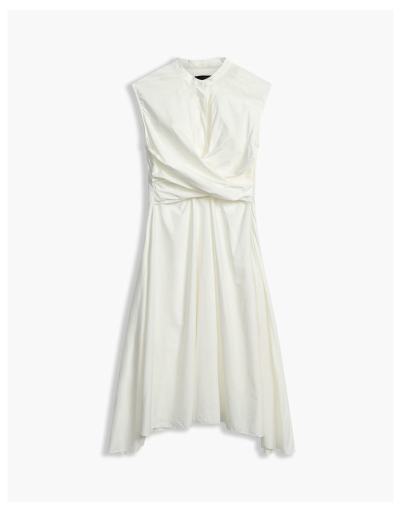 Belstaff Carissa Twist Dress Off White