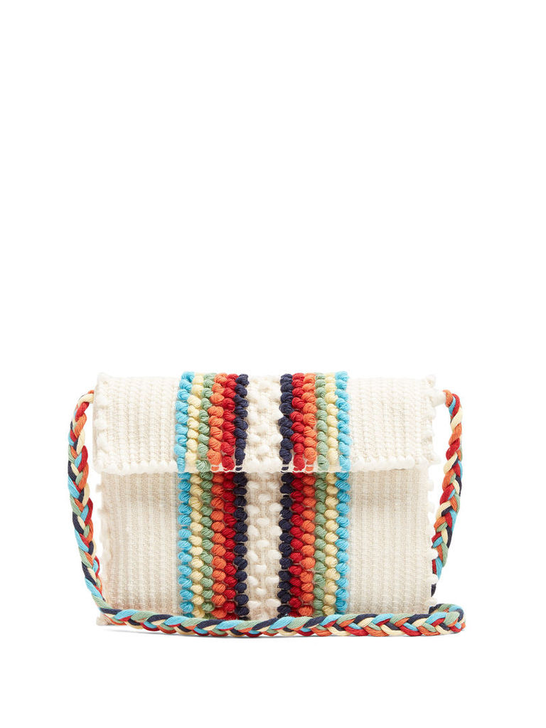 Suni Chelu striped cross-body bag