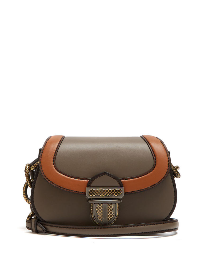 Umbria leather shoulder bag