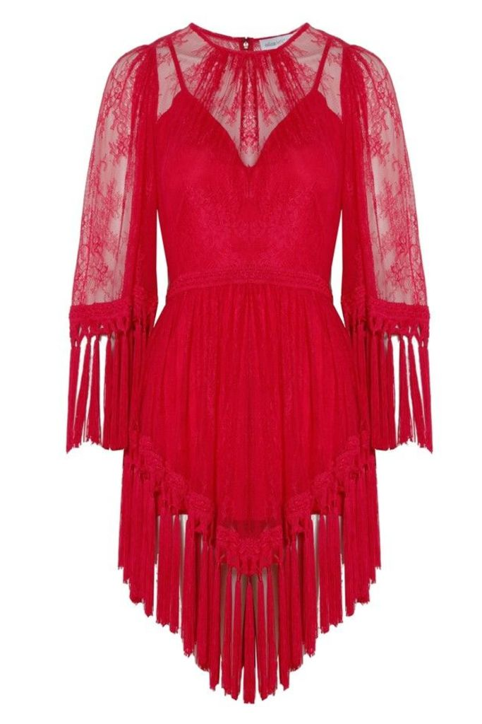 Are You Ready Girl Mini Dress Red