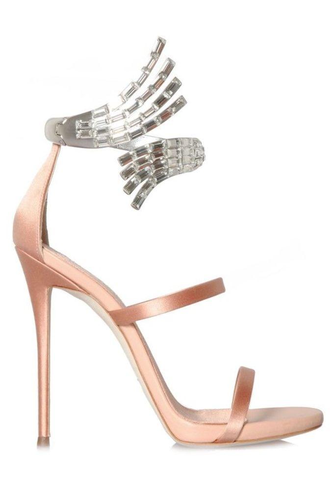 Vera Satin Sandals