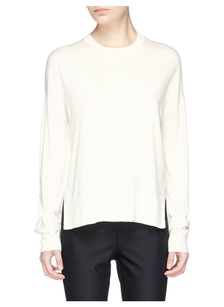 'Karenia R' high low hem sweater