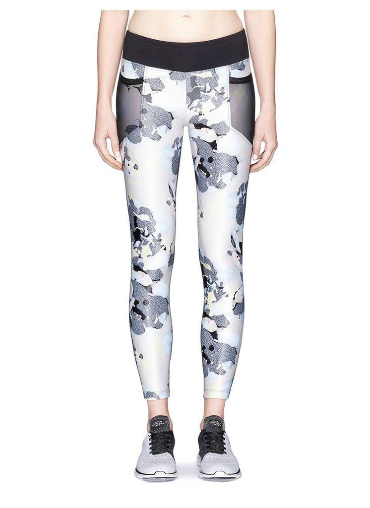 Magnify' bloom print H2O performance leggings