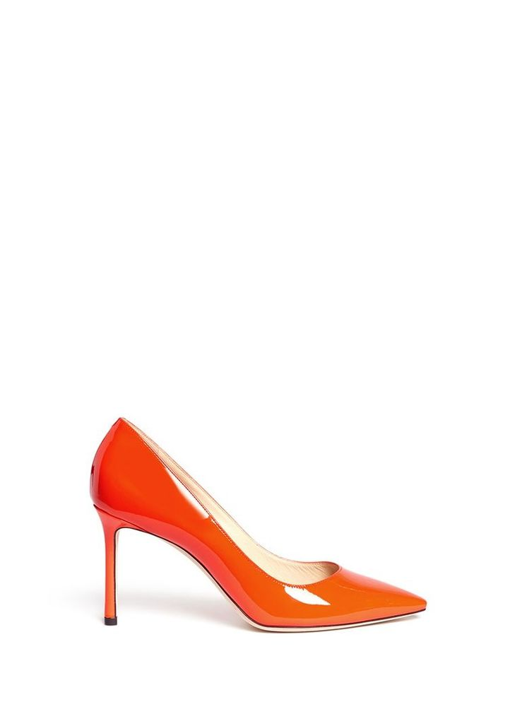 'Romy 85' patent leather pumps