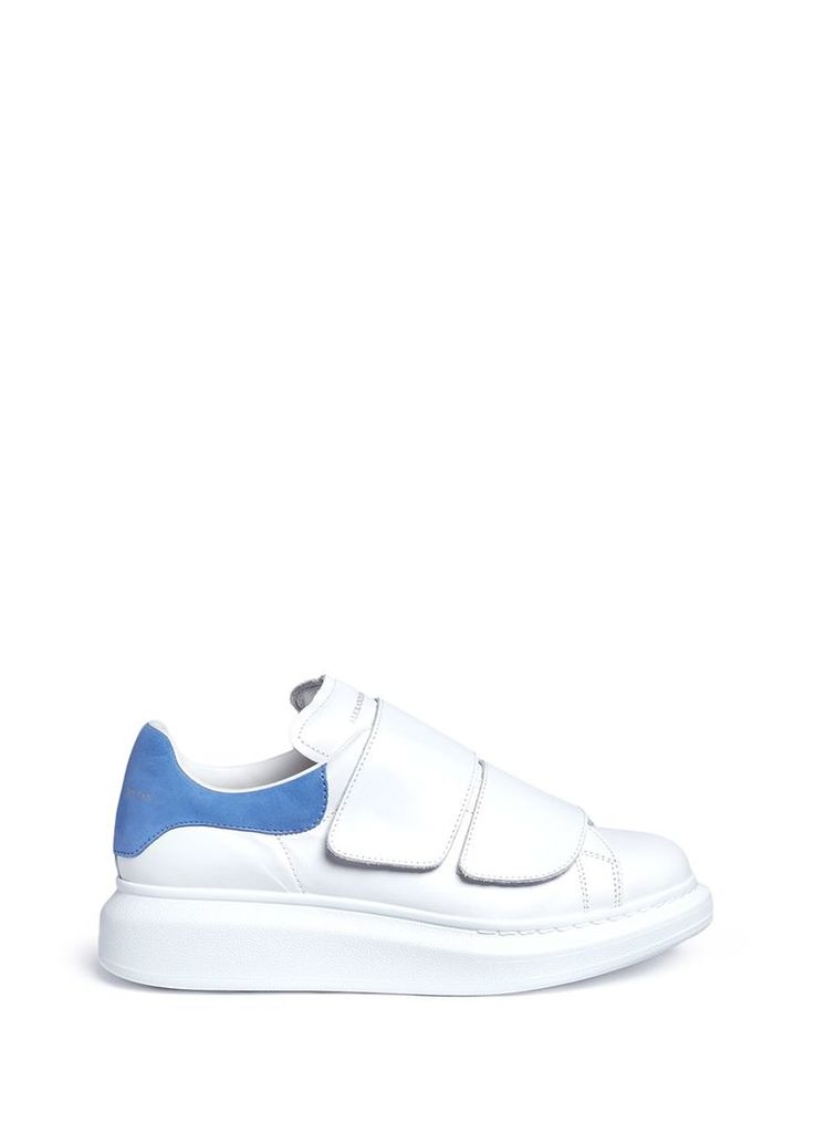 'Larry' chunky outsole leather sneakers