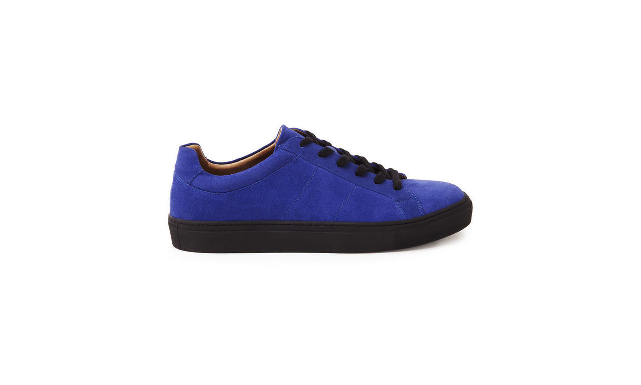Low Top Suede Trainers