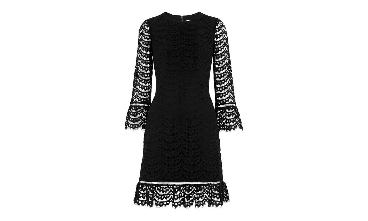 Valentina Fluted Sleeve Dress