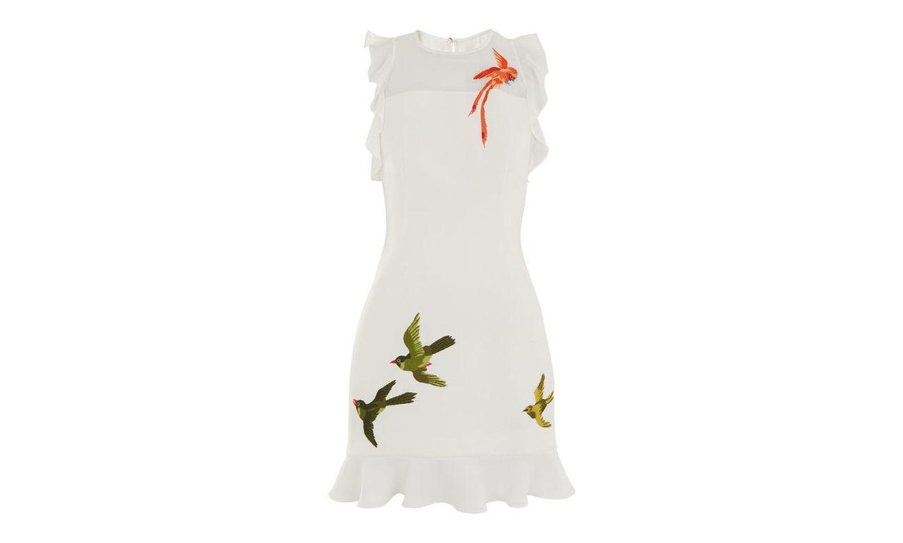Harlee Paradise Bird Dress
