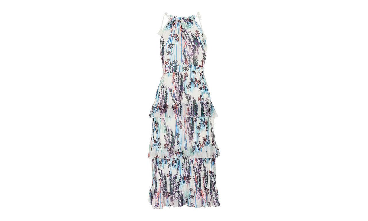 Imie Fleur Print Tiered Dress