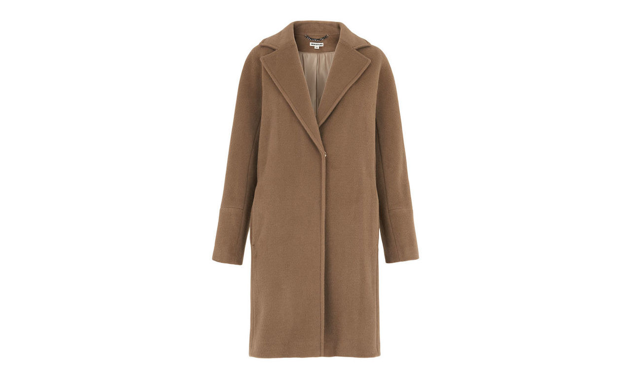 Dara Drawn Cocoon Coat