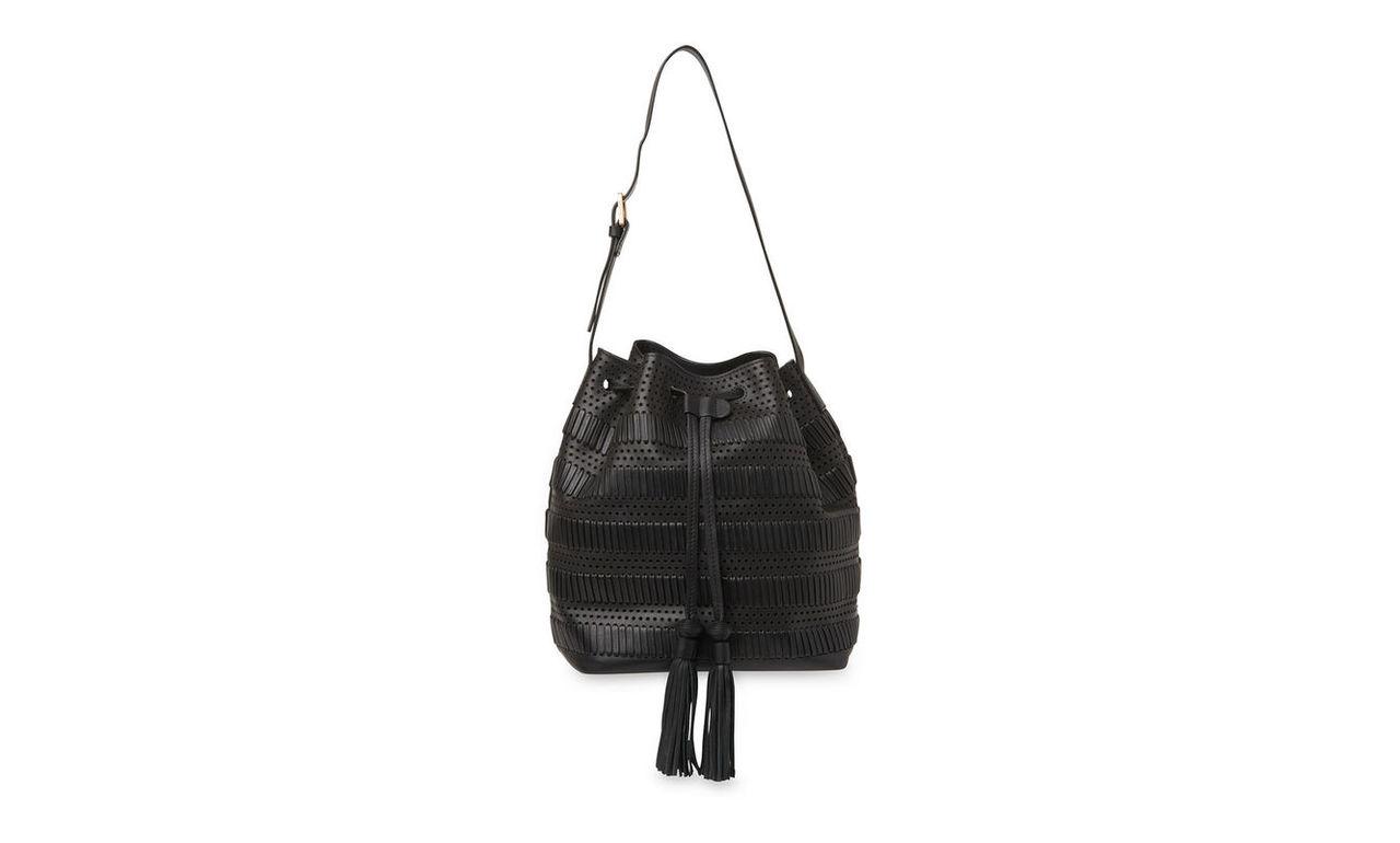 Palmdale Woven Bucket Bag