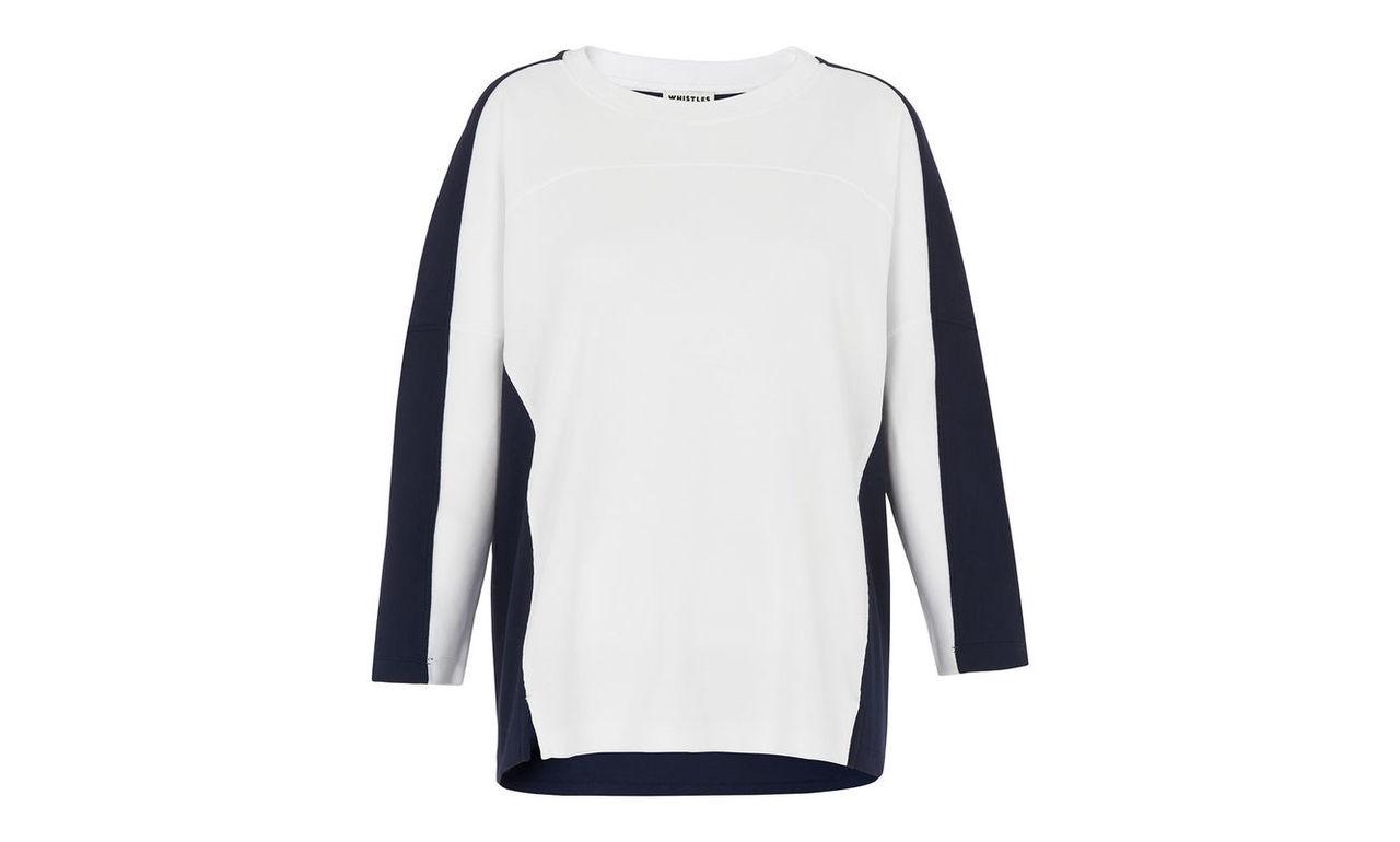 Colourblock Relaxed Sweatshirt