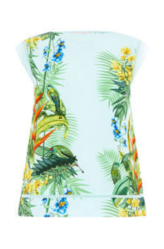 TROPICAL PLACEMENT TEE