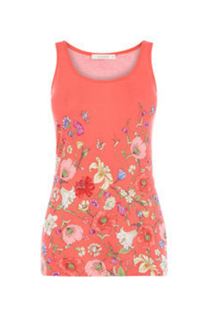 JASMINE PLACEMENT PRINT VEST