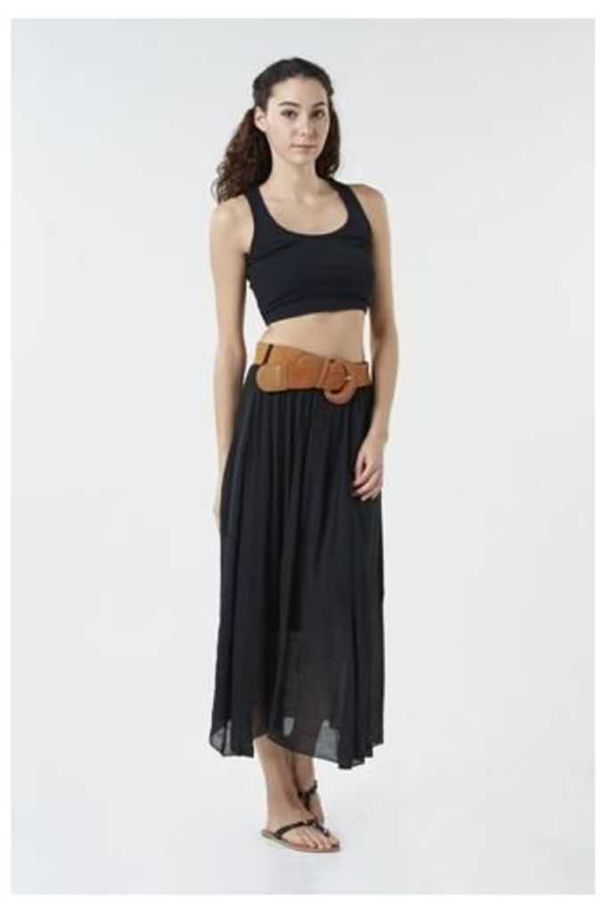 Belted Classic Skirt