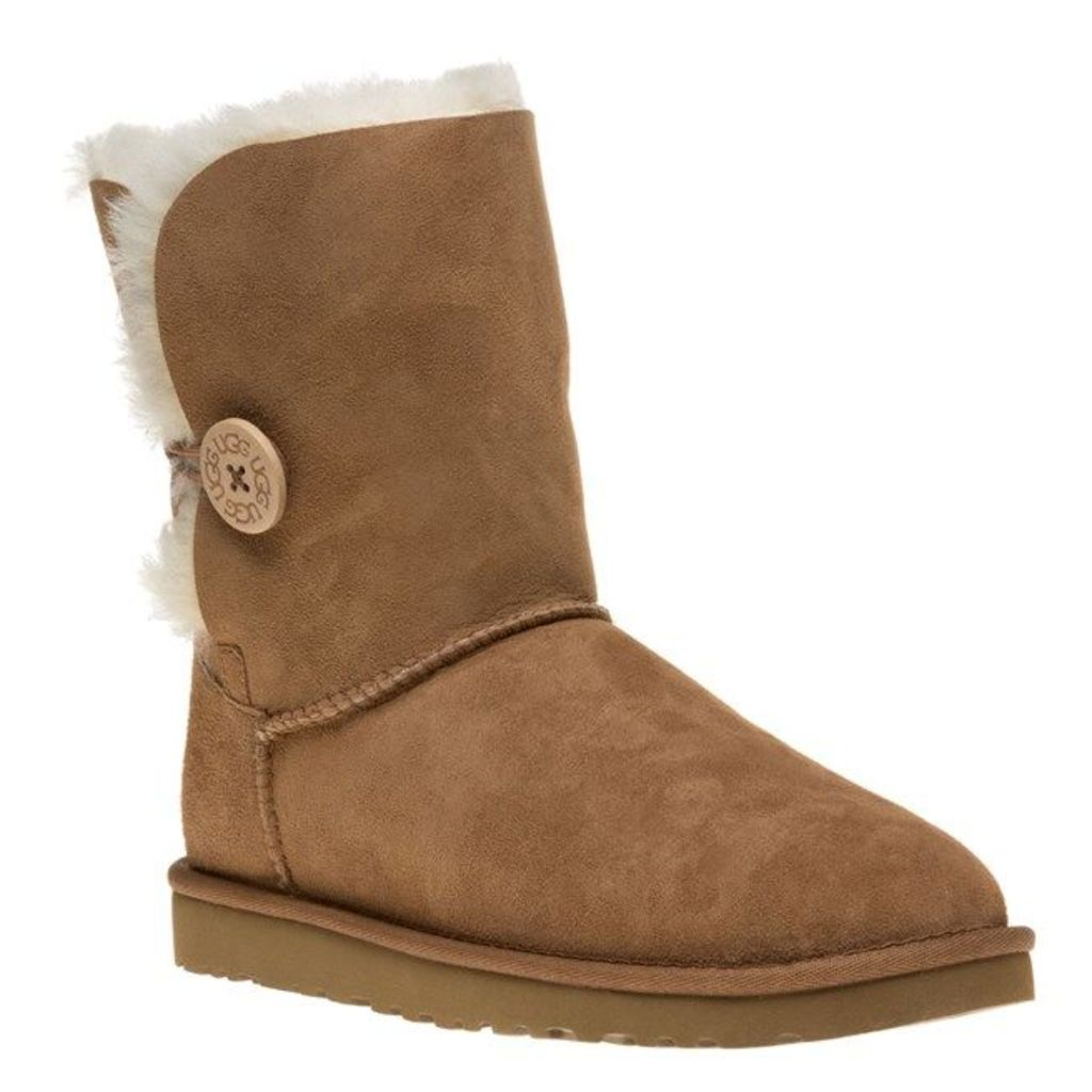 UGG Bailey Button Boots, Chestnut