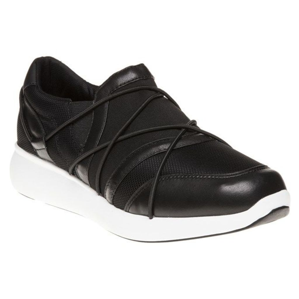 DKNY Tulip Trainers, Black