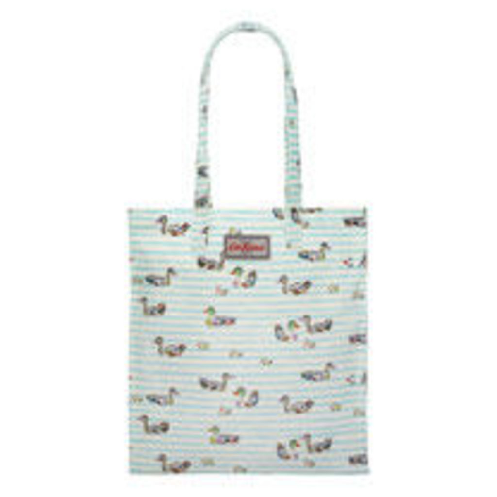 Ducks In A Row Bookbag with Gusset