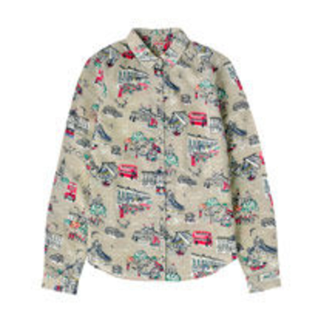 London Town Printed Cotton Shirt