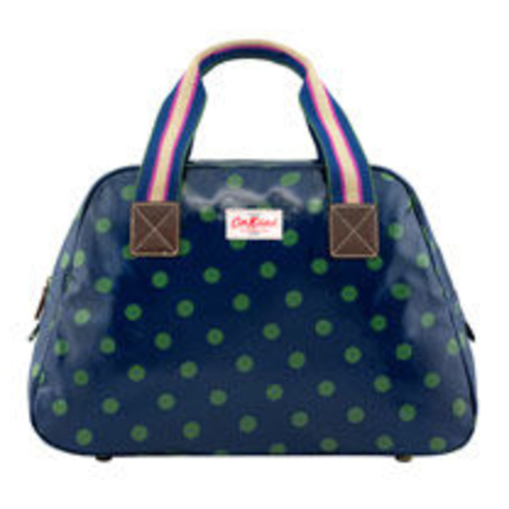 Button Spot Overnight Bag