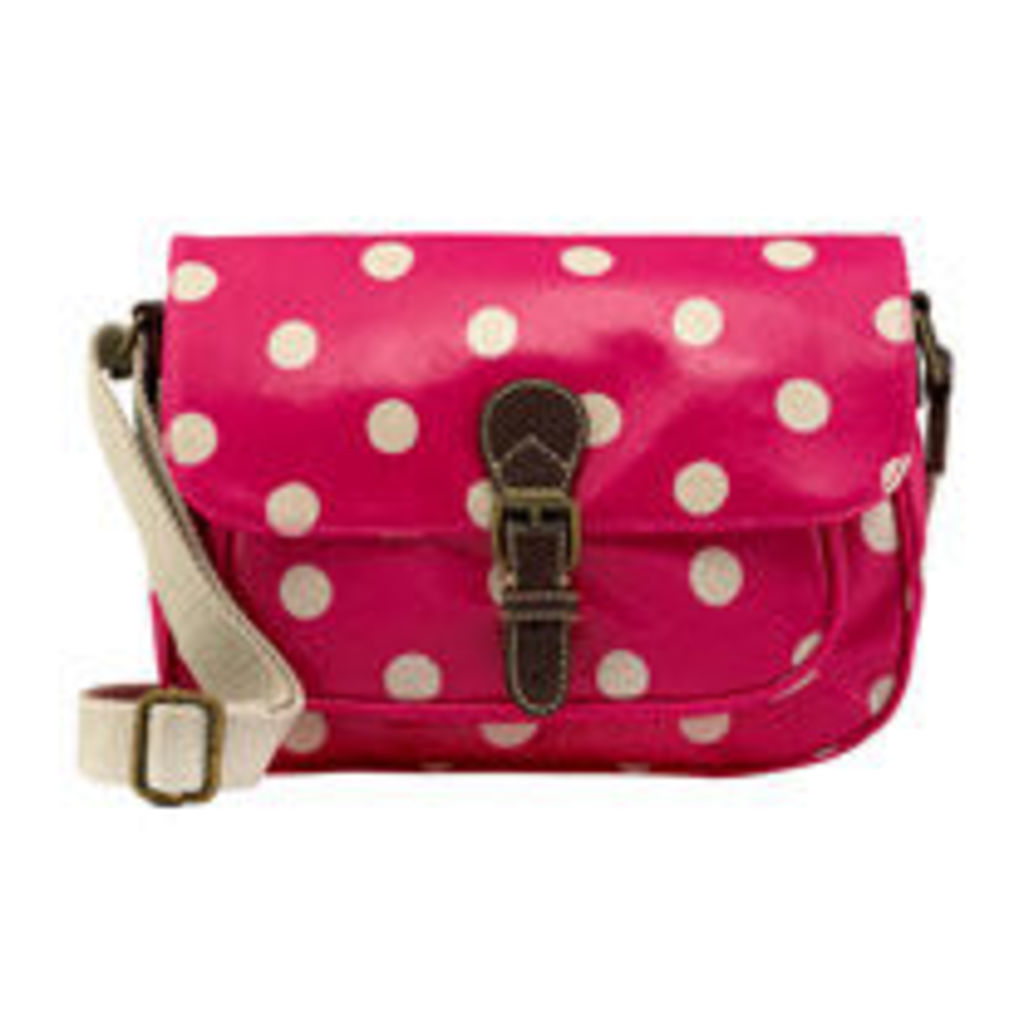 Button Spot Mini Saddle Bag