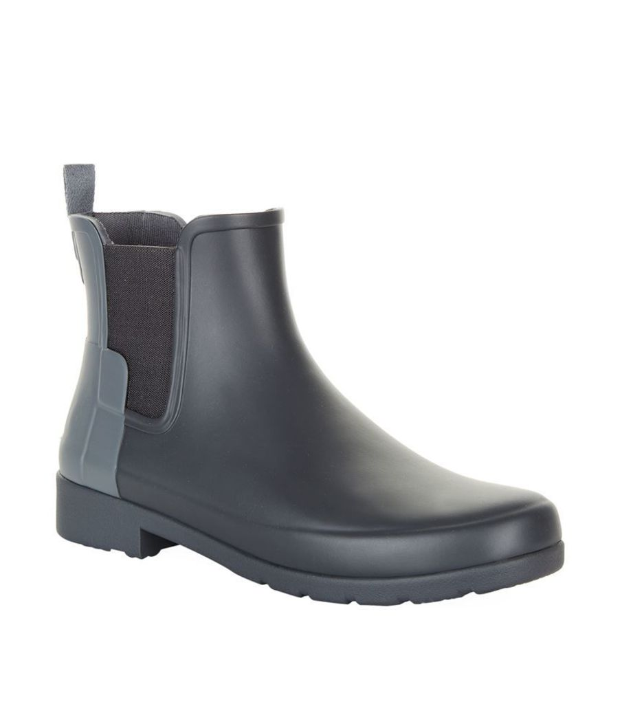 Hunter, Original Refined Two Tone Chelsea Boot Wellies, Female