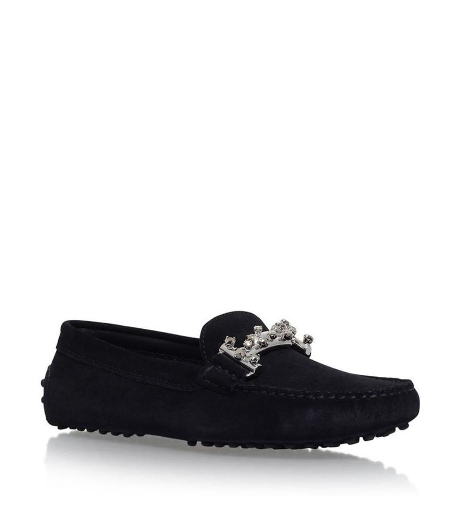 Tod'S, Gommini Maxi Dopia Driving Loafers, Female
