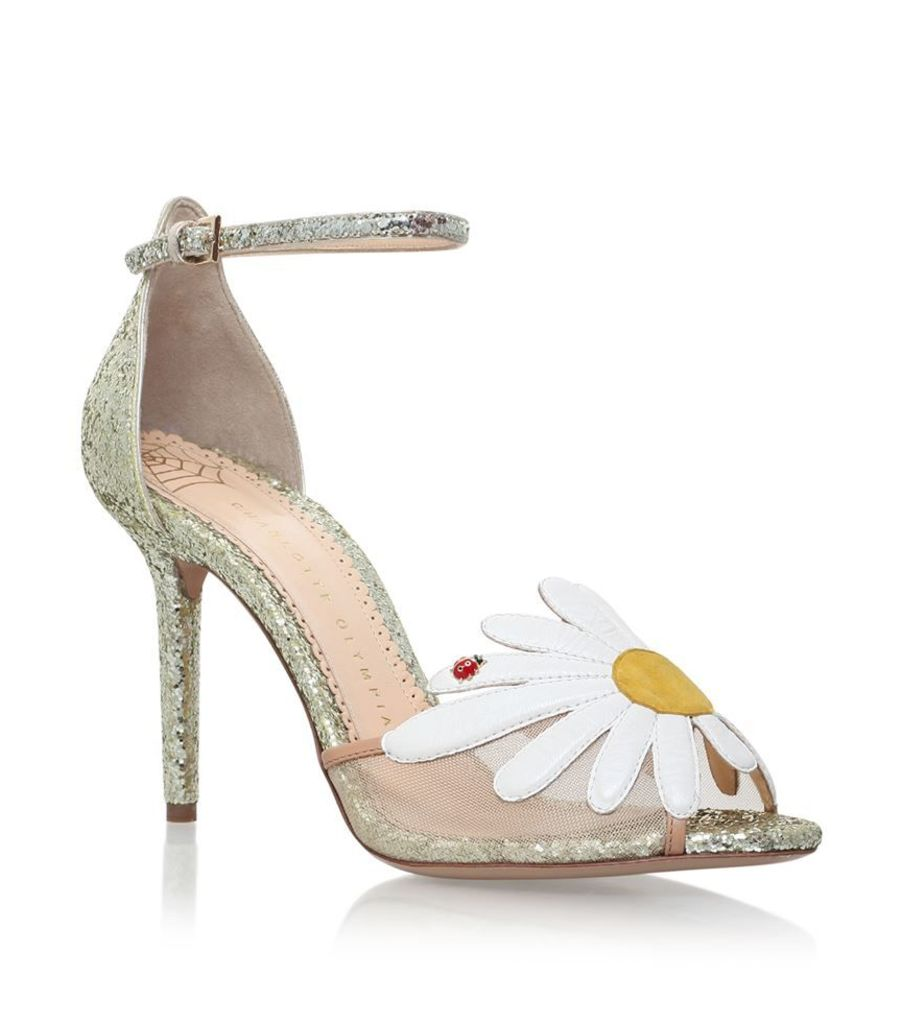 Charlotte Olympia, Margherite Daisy Sandals 100, Female