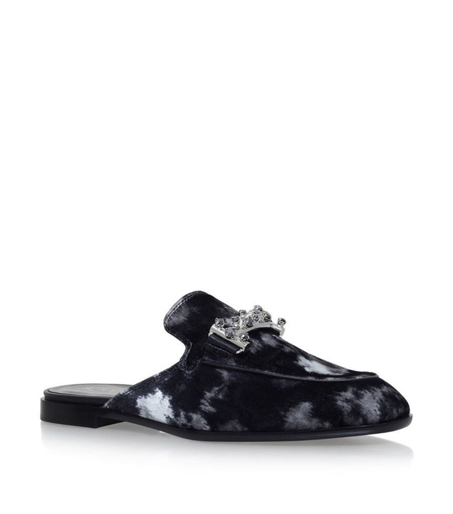 Tod'S, Embellished Leather Loafers, Female