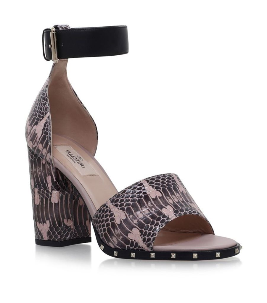 Valentino, Soul Heeled Sandals 105, Female