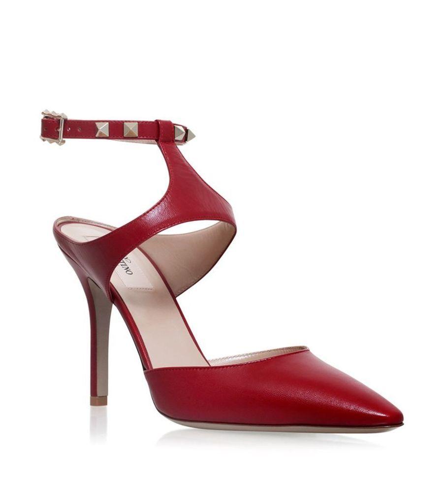 Valentino, Rockstud Ankle Pump 105, Female