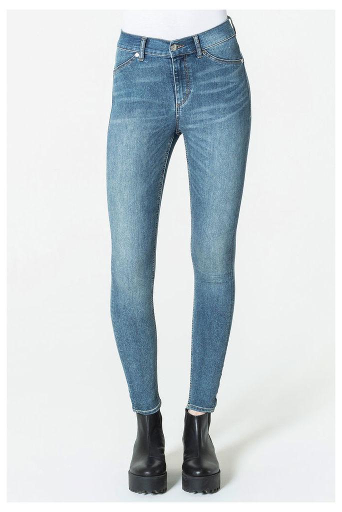 High Spray Blue Noise Jeans