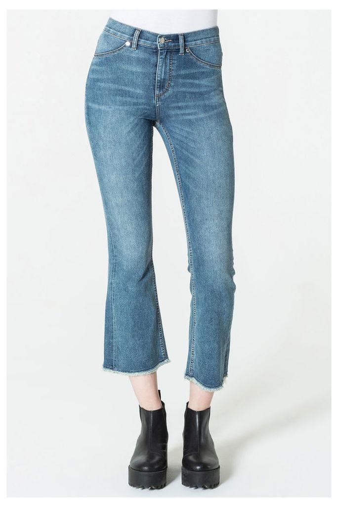 Kick Spray Blue Noise Jeans