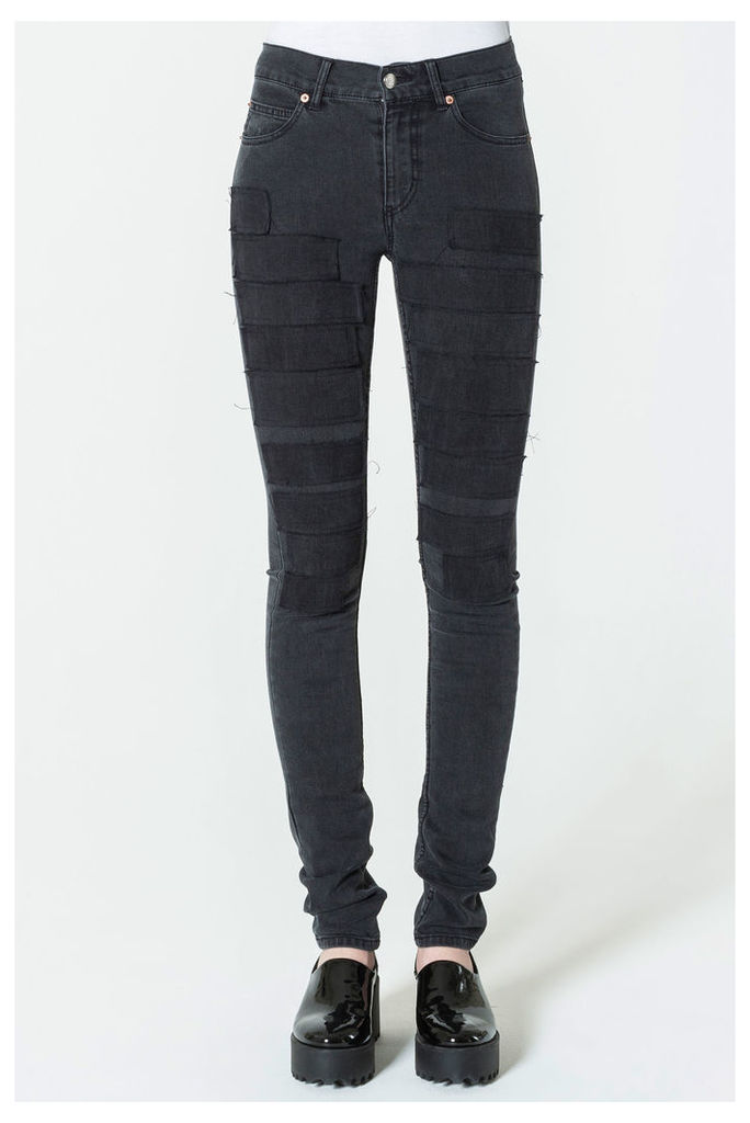 Tight Grim Black Jeans