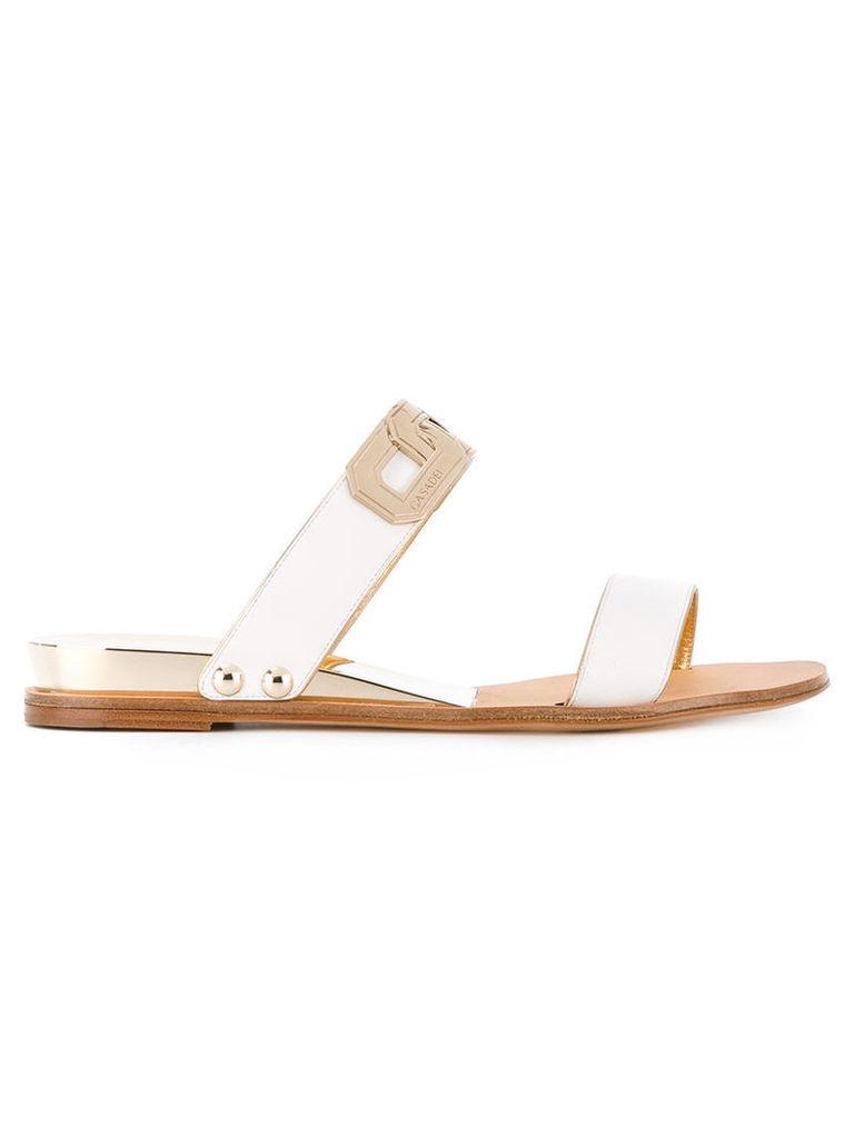 Casadei two strap sandals, Women's, Size: 40, White