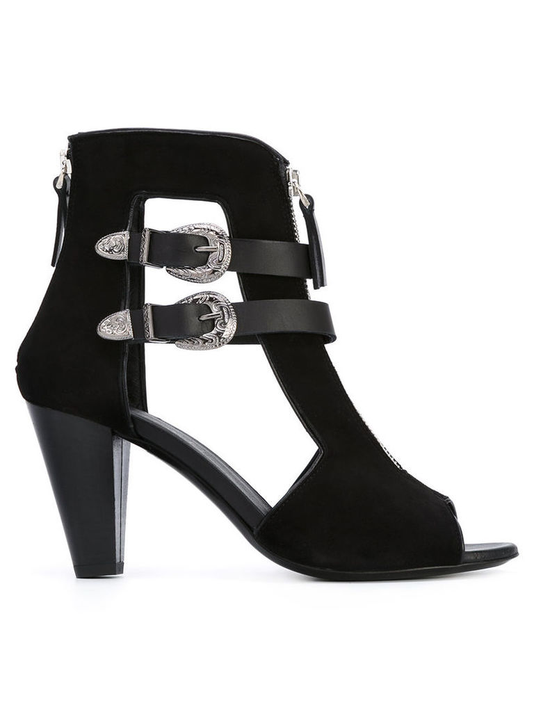 Allyn ankle length sandals, Women's, Size: 38, Black