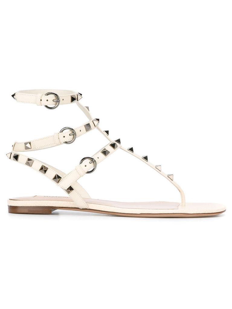 Valentino Valentino Garavani Rockstud sandals, Women's, Size: 36, White